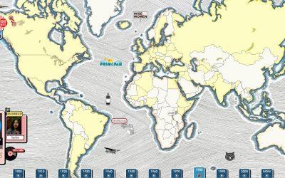 Reisje rond de wereld